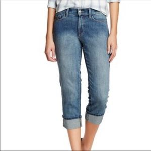 NYDJ (Not Your Daughters Jeans) Cuff Capri Jeans
